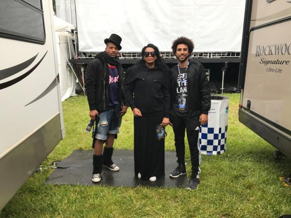 SRL Grandprix backstage