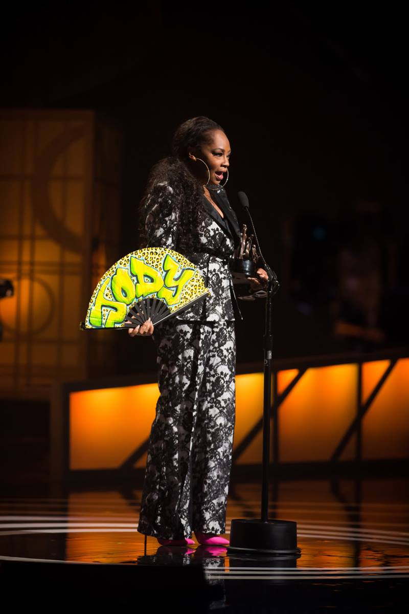 Jody Watley Black Music Honors Award Stage