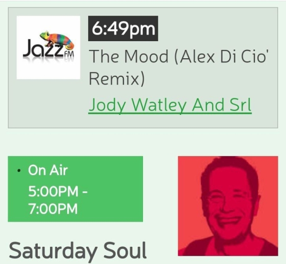Jody Watley SRL Jazz FM