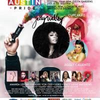 Jody Watley Austin Pride Appearance Poster