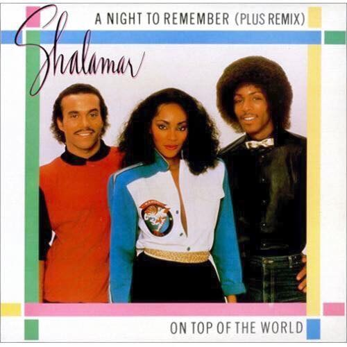 Jody Watley Shalamar A Night to Remember art vinyl