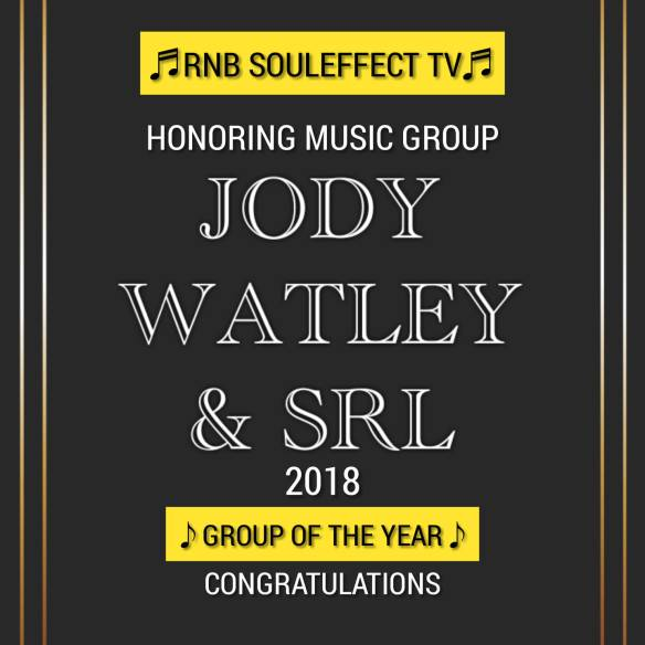 Jody Watley and SRL Group of The Year 2018 Rnb SoulEffect TV
