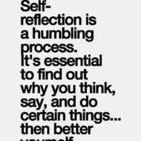 Monday Wattage. Self Reflection.