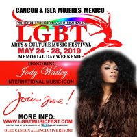 "Legendary R&B/Dance Singer Jody Watley To Be Honored ""Woman of Excellence"" at 2019 LGBT Music Fest In Cancun"